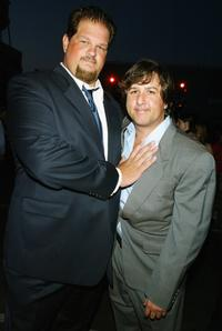 Abraham Benrubi and director Steven Brill at the premiere of