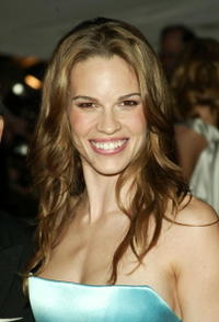 Hilary Swank at the Metropolitan Museums Costume Institute Benefit Gala in New York City.