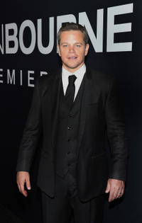 Matt Damon at the Las Vegas premiere of