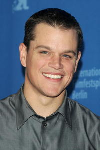 Actor Matt Damon at a Berlin photocall for