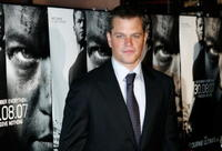Matt Damon at the Australian premiere of