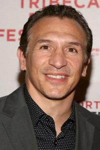 Ray Mancini at the premiere of