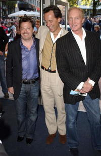 Eddie Izzard, Richard E. Grant and Charles Dance at the UK premiere of