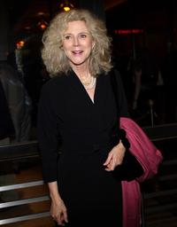 Blythe Danner at the Opening Night Of Pygmalion.