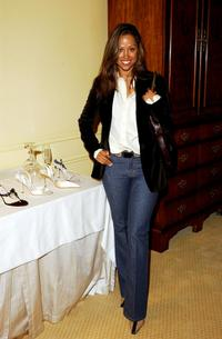 Stacey Dash at the Jimmy Choo annual Oscar / Collection Preview Tea.