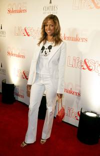 Stacey Dash at the Life and Style Magazine's Stylemakers 2005, a runway show and charity auction.