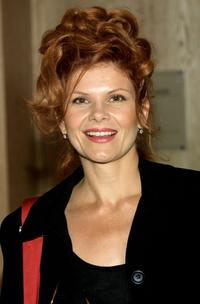 Lolita Davidovich at the First Annual 'Runway For Life' celebrity fashion show.