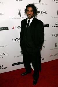 Naveen Andrews at the Weinstein Company's 2007 Golden Globes After Party.