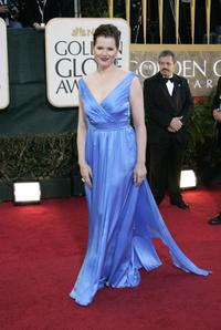 Geena Davis at the 64th Annual Golden Globe Awards.