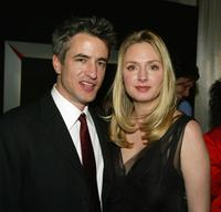 Hope Davis and Dermot Mulroney at the Beverly Hills premiere of