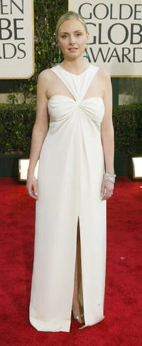 Hope Davis at the 61st Annual Golden Globe Awards.