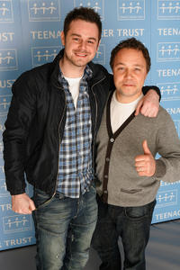 Danny Dyer and Stephen Graham at the Teenage Cancer Trust 2009 in England.