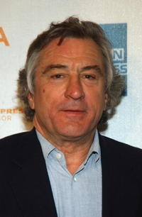 Robert De Niro at the Tribeca Family Festival.