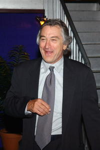 Robert De Niro at the City Council Party at the Tribeca Film Festival.