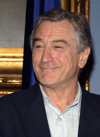 Robert De Niro at the Tribeca Film Festival in N.Y.