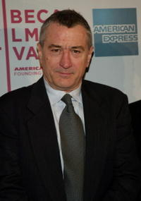 Robert De Niro at a screening of