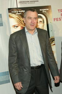 Robert De Niro at the N.Y. premiere of