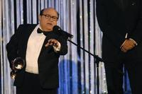 Danny Devito at the 42nd Karlovy Vary International Film Festival closing ceremony.