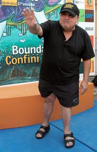 Danny Devito at the Giffoni Film Festival.
