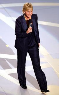 Ellen DeGeneres at the 59th Annual Primetime Emmy Awards.