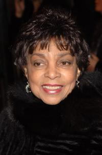 Ruby Dee at the opening of