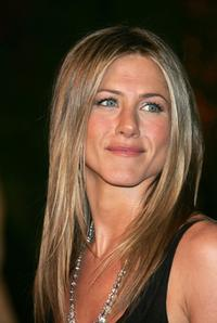 Jennifer Aniston at the party to celebrate