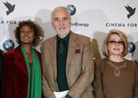 Waris Dirie, Christopher Lee and Catherine Deneuve at the photocall of