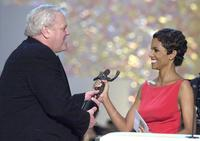 Brian Dennehy and Halle Berry at the 7th Annual Screen Actors Guild Awards.