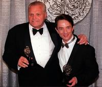 Brian Dennehy and Martin Short at the Tony Awards on 06 June 1999.