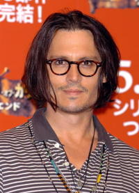 Johnny Depp at a photocall for