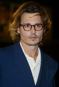 Johnny Depp at the screening of