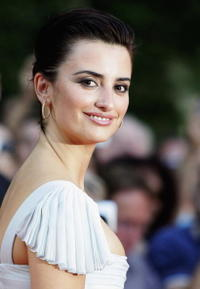 "Penelope Cruz at the premiere of ""Volver"" in Berlin, Germany."