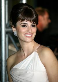 Penelope Cruz at the tribute to Penelope Cruz screening of