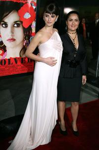 Penelope Cruz and Salma Hayek at the tribute to Penelope Cruz screening of