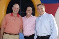 Michael Eisner, David Williams and Bob Iger at the Disney's Make-A-Wish Fundraiser