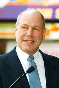 Michael Eisner at the Hollywood Walk of Fame.