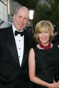 Michael Eisner and Jane Breckenridge at the Metropolitan Opera 2006-2007 season opening night.