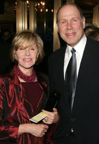 Jane Breckenridge and Michael Eisner at the Special Gala for the 7,486th performance of