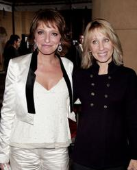 Susanne Bier and Stacey Snider at the premiere of