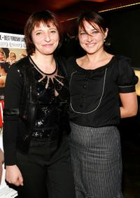 Susanne Bier and Sidse Babett Knudsen at the premiere of