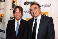 Producers Christian Colson and Danny Boyle at the 14th Annual Hollywood Awards Gala.