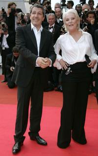 Alain Chabat and Bernadette Lafont at the 60th edition of the Cannes Film Festival.