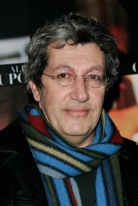 Alain Chabat at the premiere of