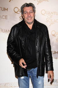 Alain Chabat at the Paris premiere of