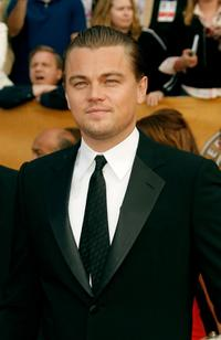 Leonardo DiCaprio at the 13th Annual Screen Actors Guild Awards.