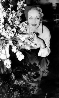 Marlene Dietrich poses for a photo in London.
