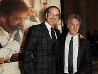 Richard J. Lewis and Dustin Hoffman at the screening of