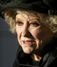 Phyllis Diller at the Bob Hope Memorial Tribute at the Academy of Television Arts and Sciences in Los Angeles.