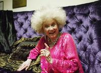 Phyllis Diller at the weSparkle Night Take III benefit show at the Gindi Theatre.