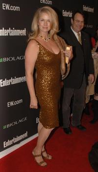 Donna Dixon at Entertainment Weekly's Oscar viewing party.
